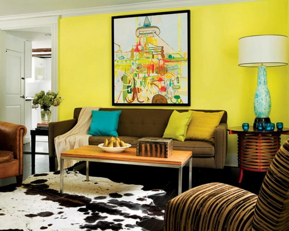 15 Paint Color Design Ideas That Will Liven Up Your Living Room Interior