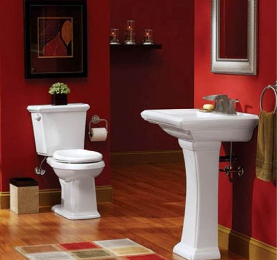 10 Paint Color Ideas For Small Bathrooms: 10 Inspiring Paint Color Design Ideas For Bathroom Interior