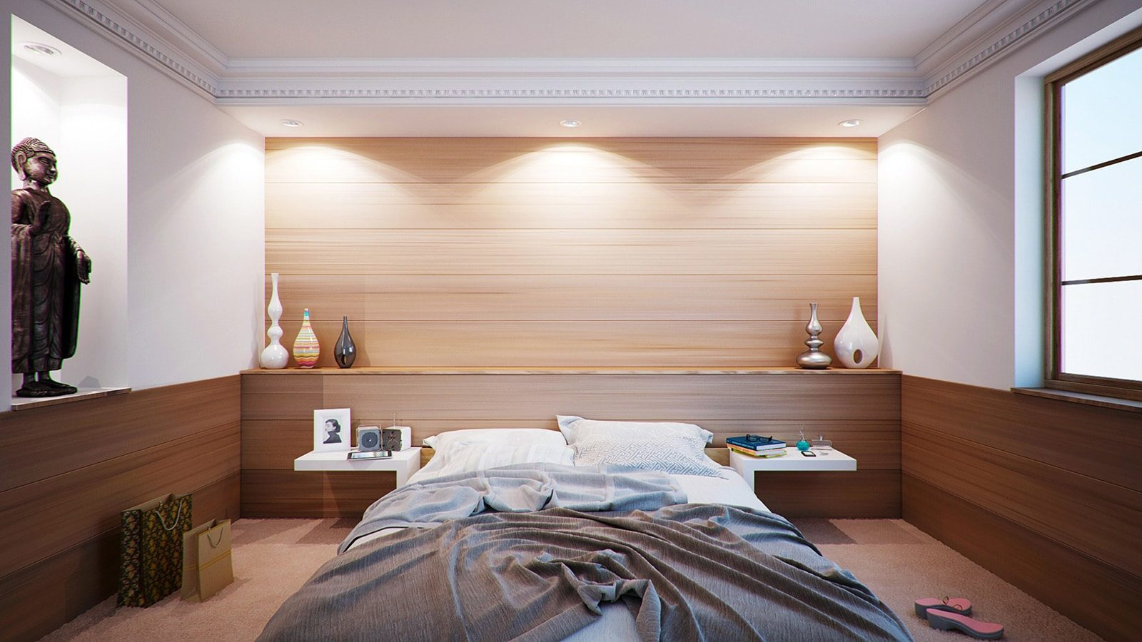 10 Fundamental Interior Design Ideas for a Relaxing and Beautiful Bedroom
