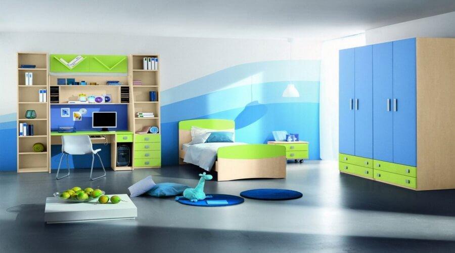 10 Interesting Boys Themed Bedroom Interior Design Ideas
