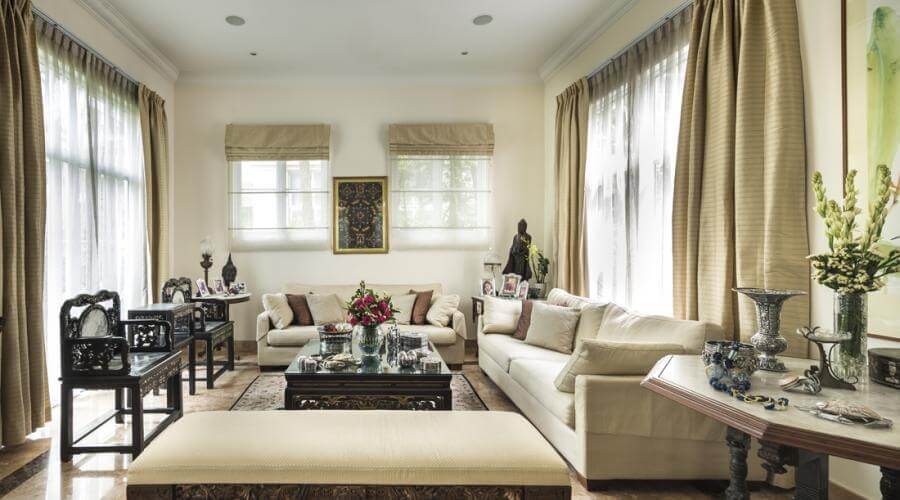 25 Chic And Serene Green Bedroom Ideas: 10 Serene Neutral Living Room Interior Design Ideas