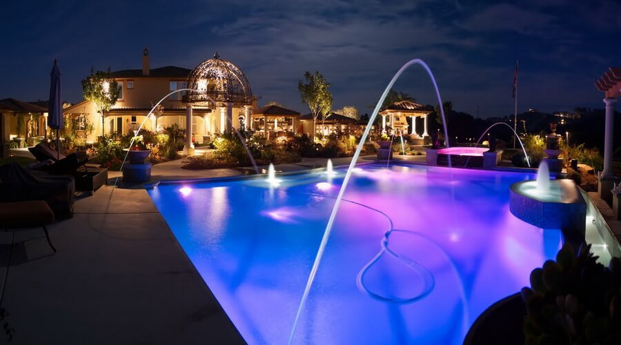 10 Stunning Patio Pool Design Ideas