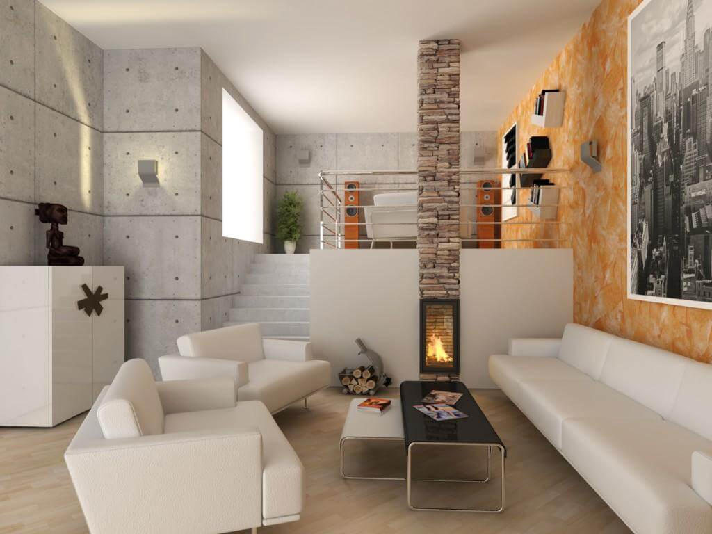 Interior Design Ideas For Living Rooms: 10 Amazing Contemporary Living Room Interior Design Ideas