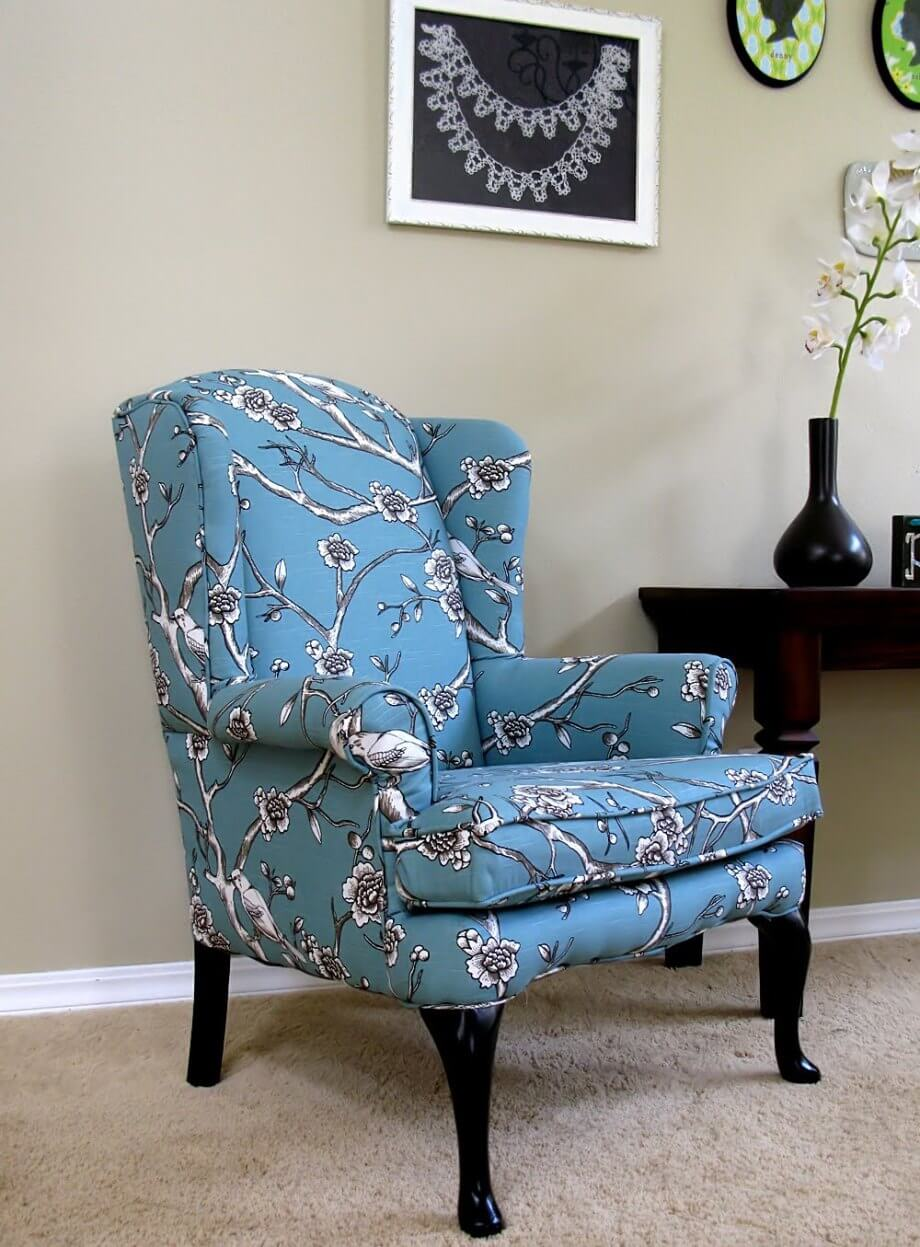 10 Wing Back Chair Design Ideas For Living Room Interior
