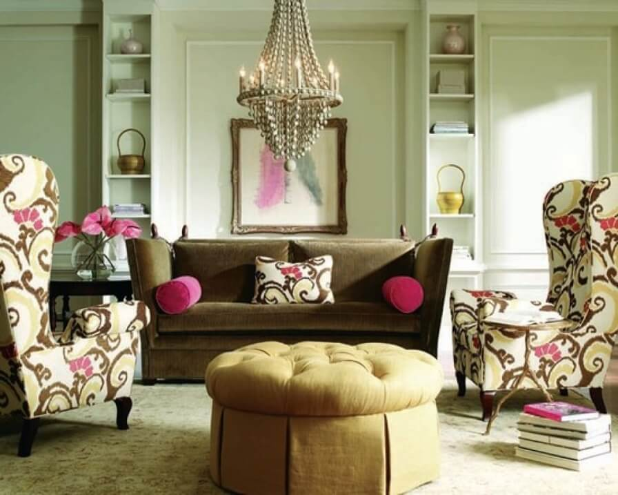 10 Modern Eclectic Living Room Interior Design Ideas