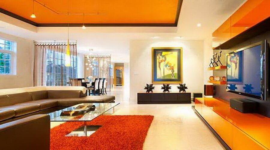10 Charming Orange Interior Design Ideas Interior Idea
