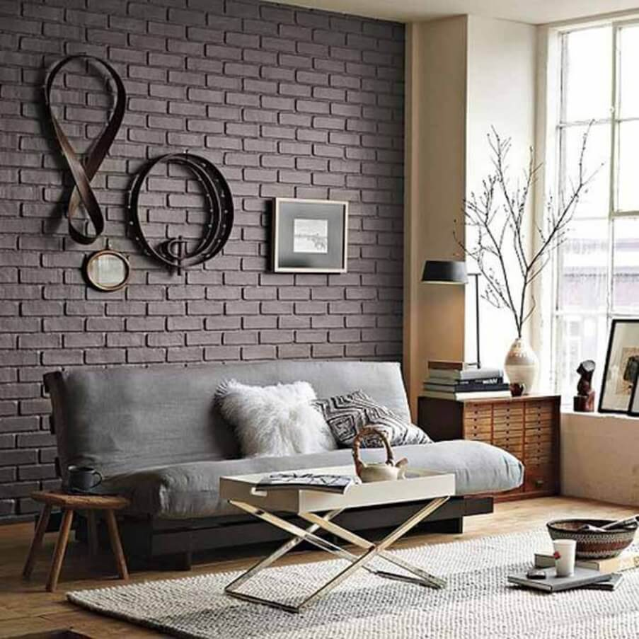 10 brick walls living room interior design ideas for Designs of living room walls