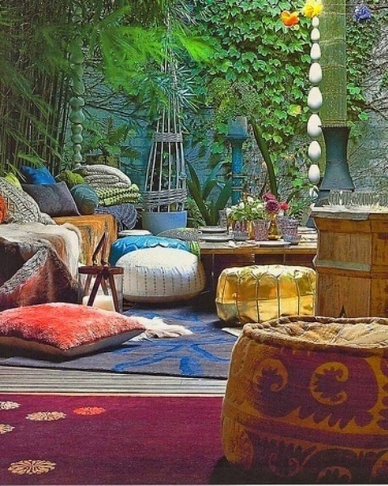 Home Design Backyard Ideas: 10 Charming Bohemian Patio Design Ideas