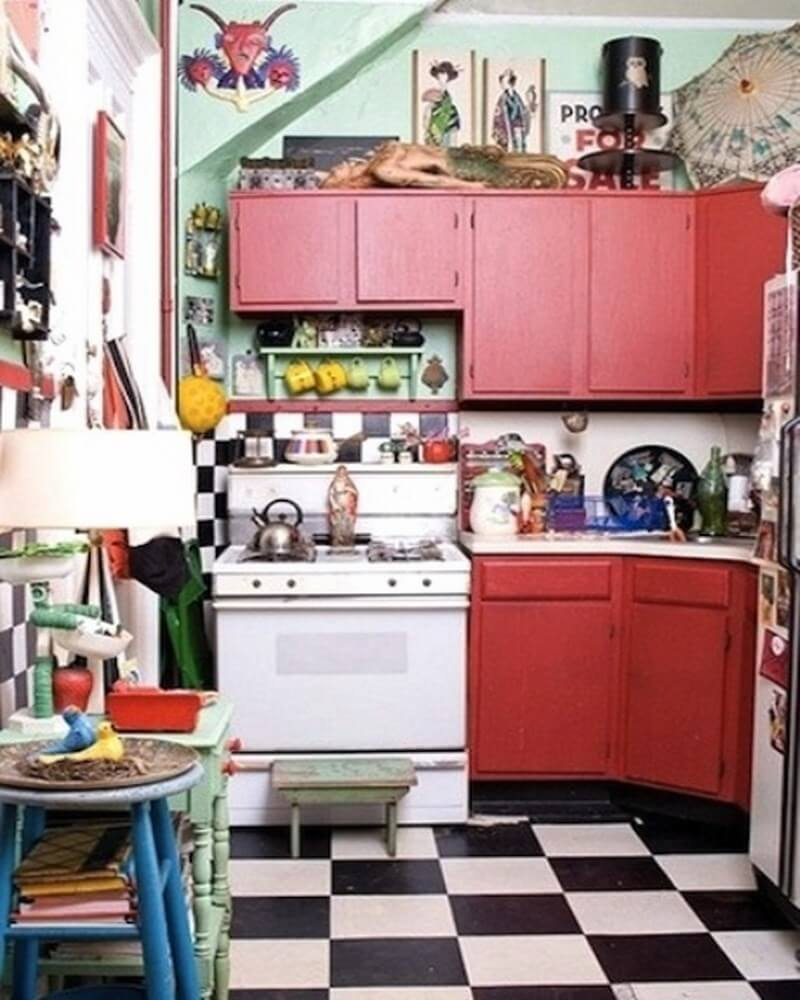 Vintage Kitchen Ideas: 10 Boho Chic Kitchen Interior Design Ideas