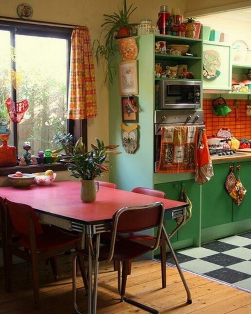 Interior Design Ideas: 10 Boho Chic Kitchen Interior Design Ideas