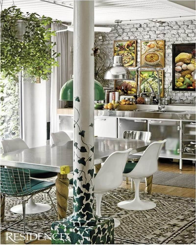 10 Boho Chic Kitchen Interior Design Ideas