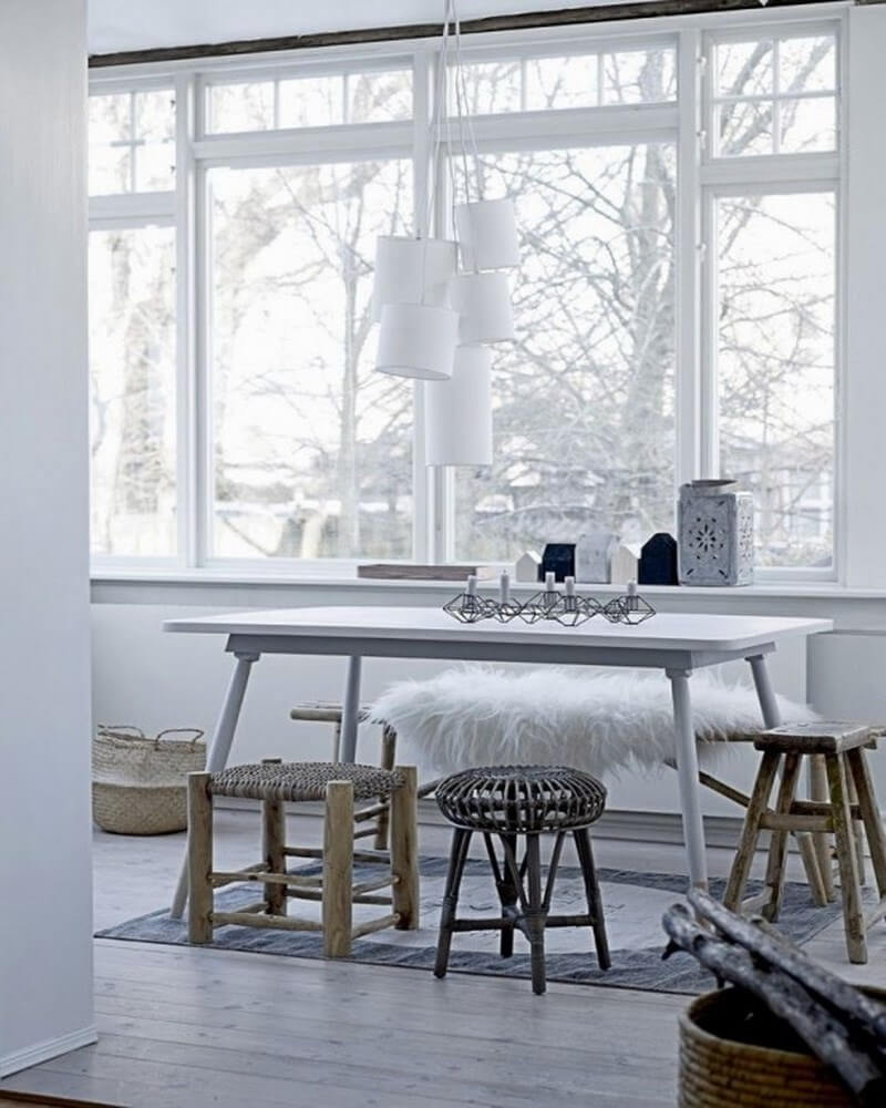 10 Cool Scandinavian Dining Room Interior Design Ideas: scandinavian style dining room