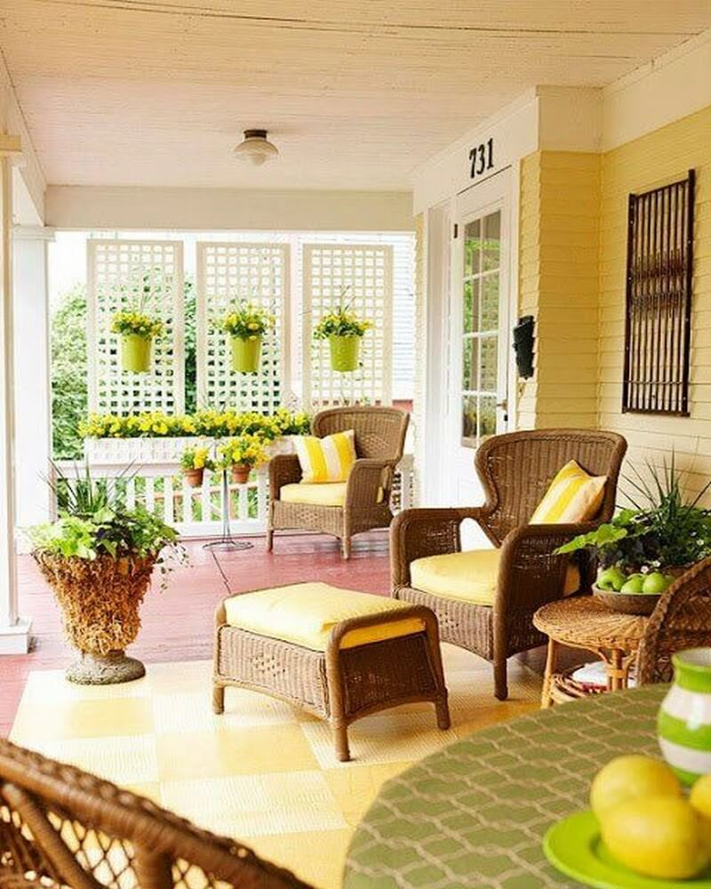 Deck Decorating Ideas: 10 Charming Front Porch Design Ideas