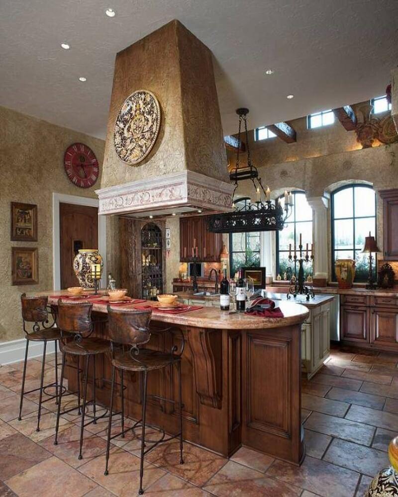 Mediterranean Kitchen Design Ideas ~ Amazing mediterranean kitchen interior design ideas