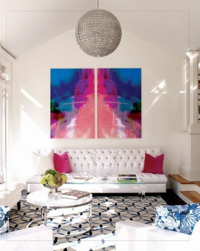 Beautiful Colorful Living Rooms: 10 Interesting Colorful Living Room Interior Design Ideas
