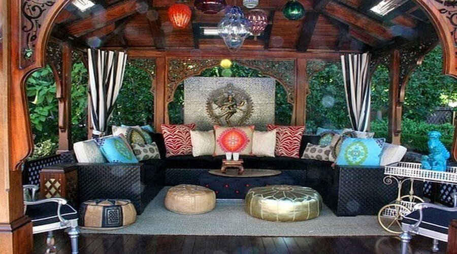 10 Charming Bohemian Patio Design Ideas Interior Idea