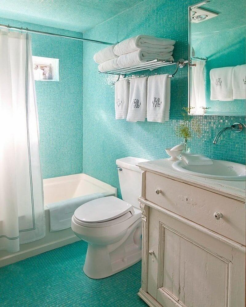 10 Fresh Colorful Bathroom Interior Design Ideas