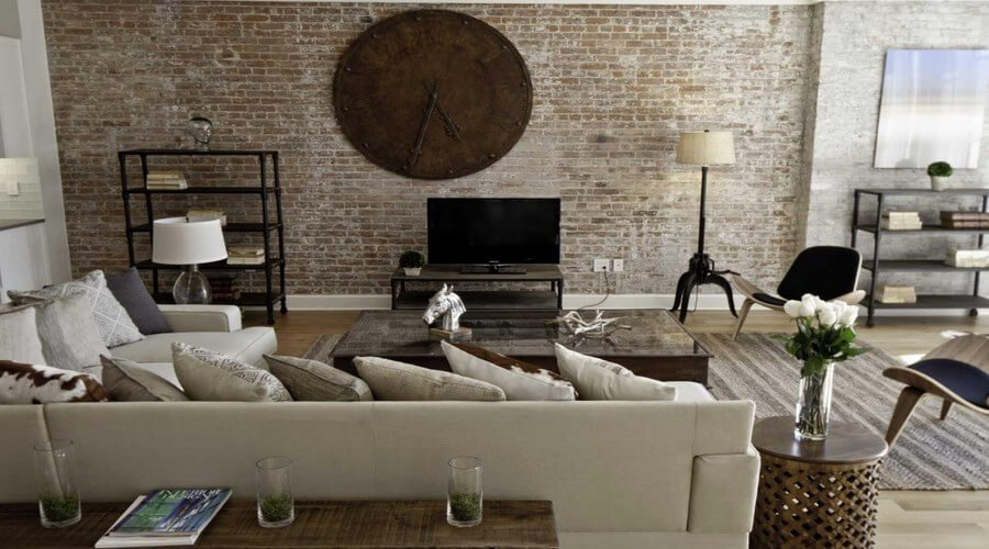10 captivating exposed brick walls interior design ideas interior idea for Living room ideas with white walls