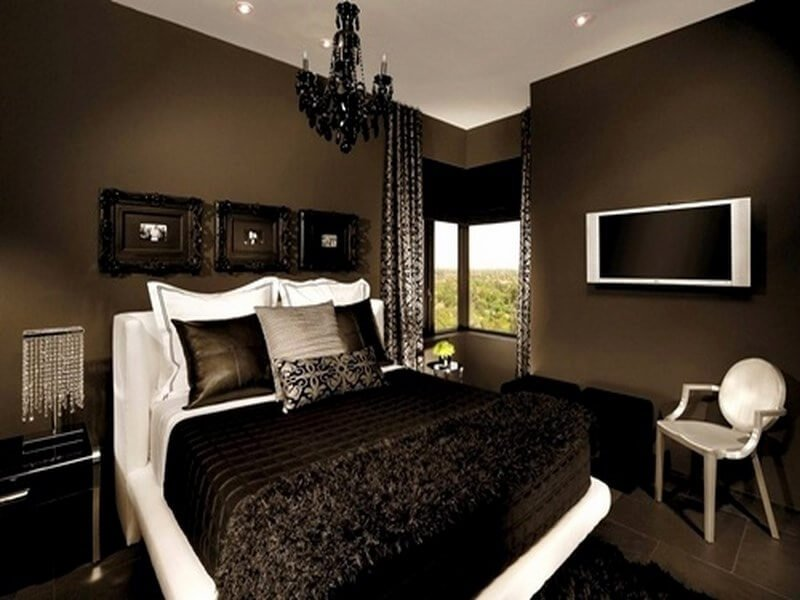 Decorating Ideas Color Inspiration: 10 Chocolate Brown Bedroom Interior Design Ideas