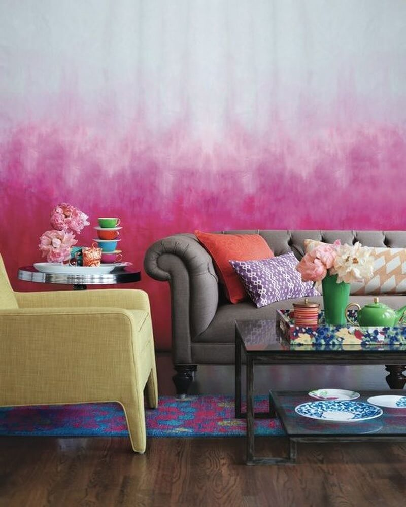 10 incredibly creative interior design ideas with ombre for What is ombre design