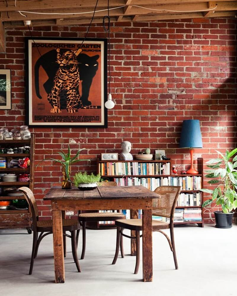 69 Cool Interiors With Exposed Brick Walls: 10 Captivating Exposed Brick Walls Interior Design Ideas
