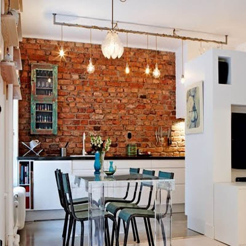 Exposed Brick Wall Ideas 27 Interior Idea
