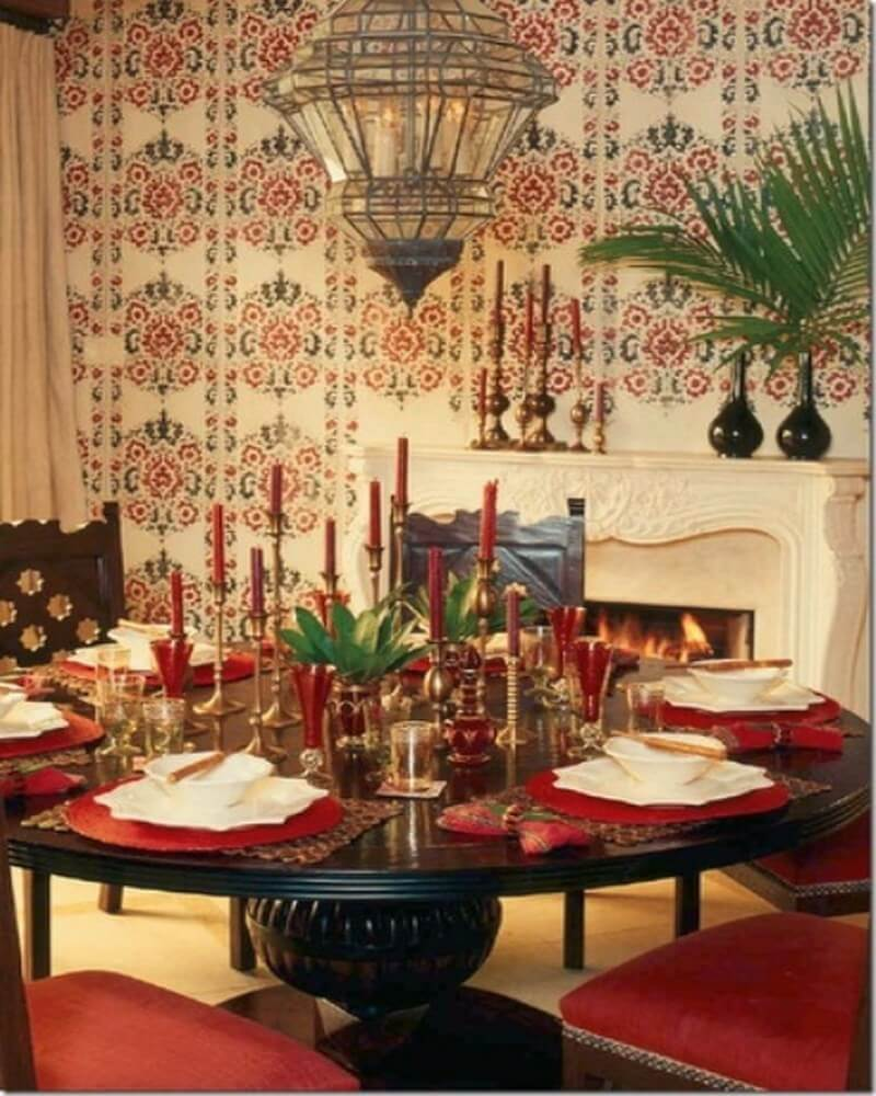 10 exotic moroccan inspired dining room interior design ideas for Moroccan interior design ideas