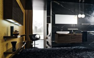 Masculine Bathroom