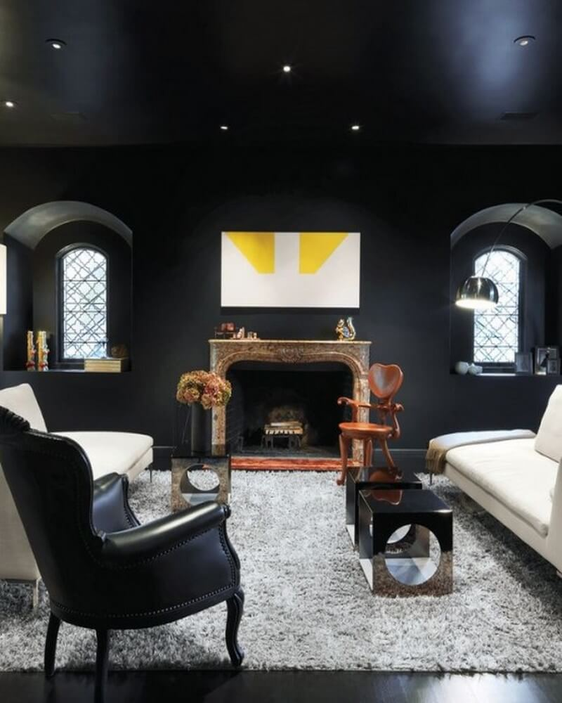 Dark Living Room Ideas