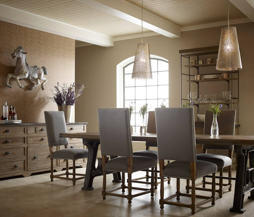 10 Dramatic Industrial Dining Room Interior Design Ideas - https://interioridea.net/