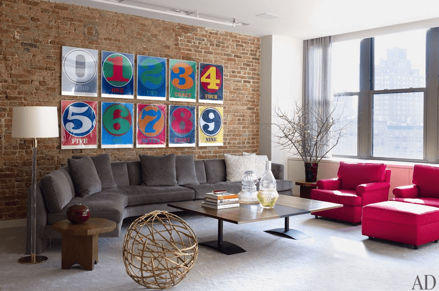 Beautiful Pop Art Living Room