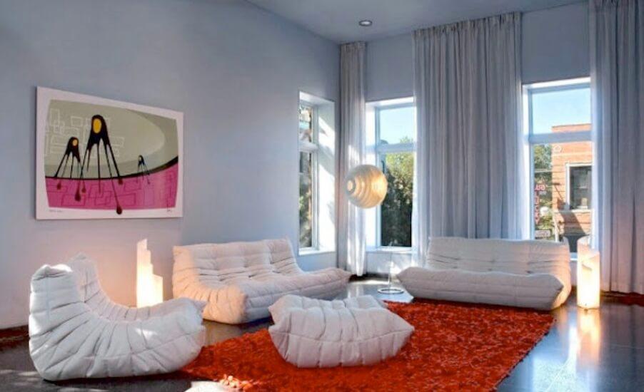 Contemporary Pop Art Living Room