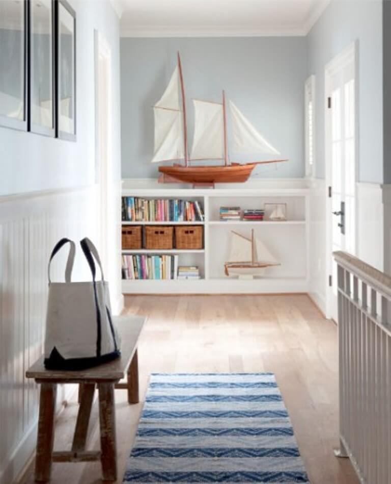 Ideas For Home Decoration Hall: 10 Vibrant Coastal Hallway Interior Design Ideas