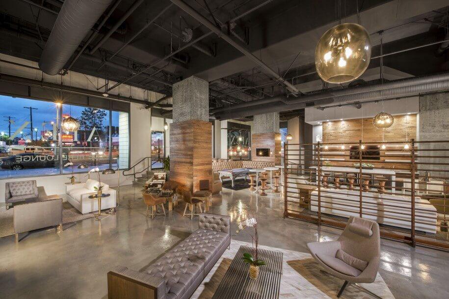 10 charming industrial living room interior design ideas - Modern industrial interior design ...
