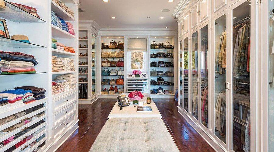 10 stylish and chic walk in closet interior design ideas interior idea