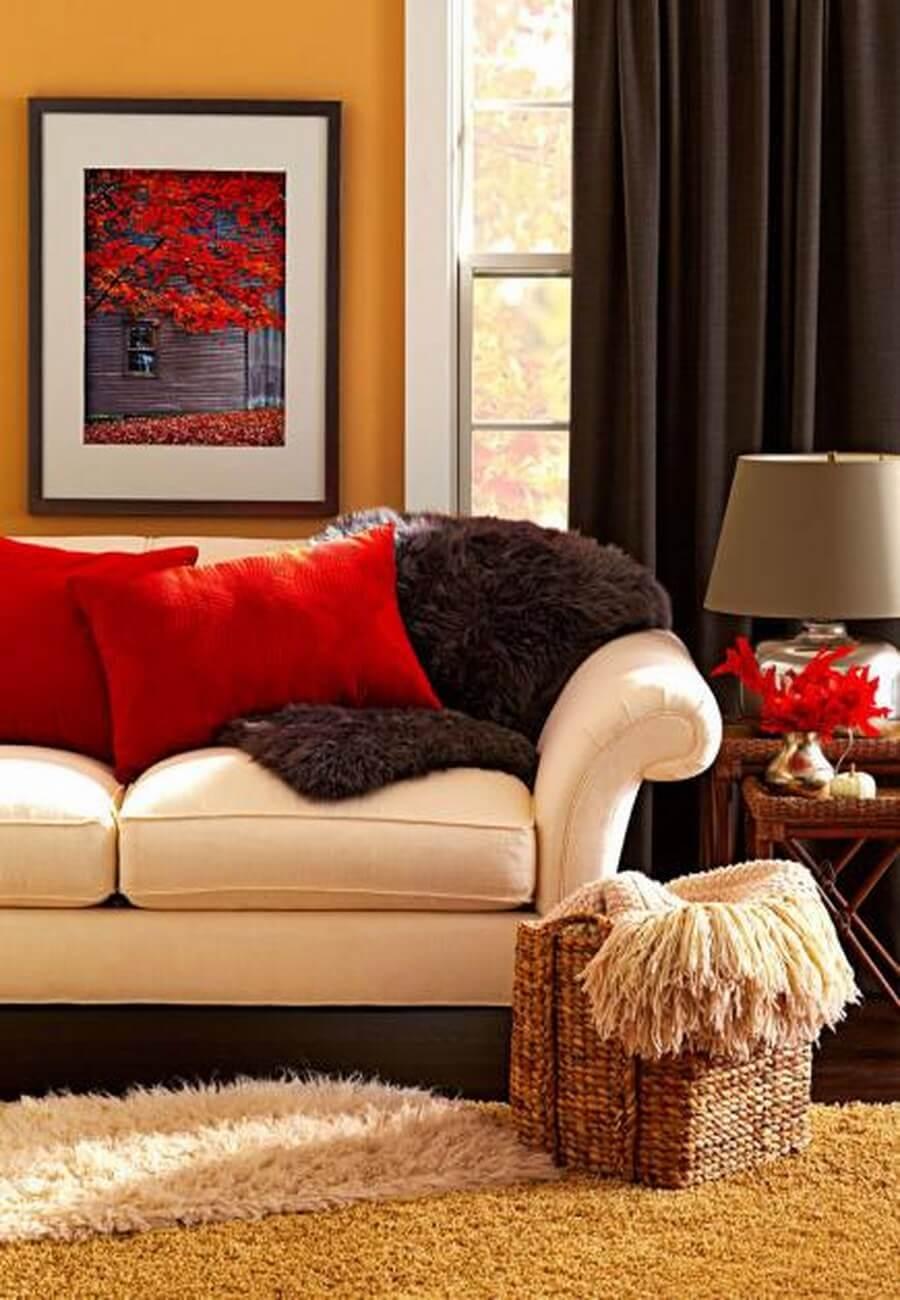 fall layers in decor