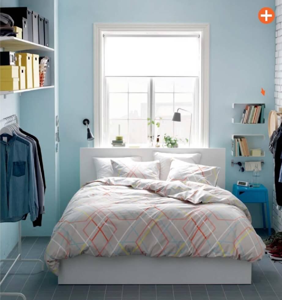 Ikea Bedroom Design Ideas 2012: Blue Ikea Bedroom
