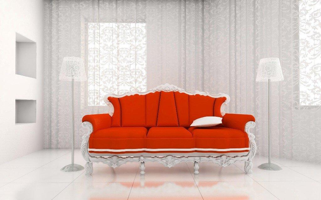 Bold Vintage Sofa