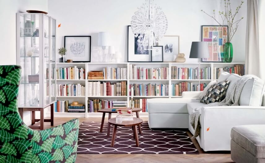 10 New And Fresh IKEA Living Room Interior Design Ideas