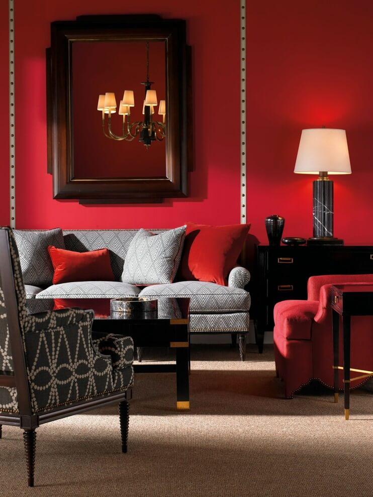 best 11 marvelous red living room design ideas  interior idea