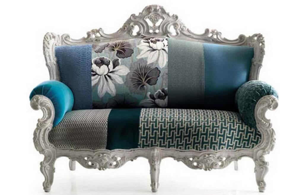 Patchwork Vintage Sofa