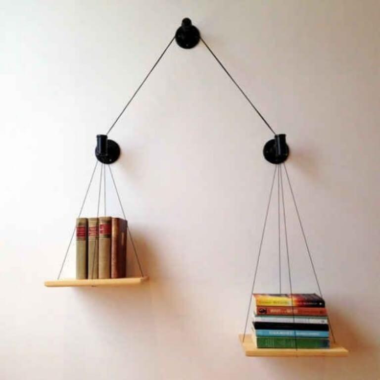 Pendulum Bookcase