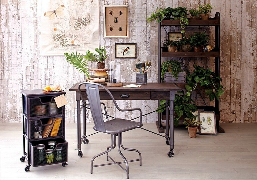 Bold Industrial Home Office