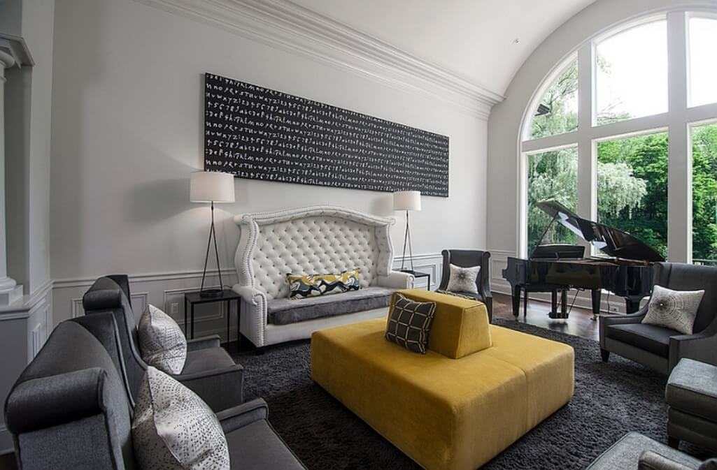 On Style Today 2020 11 21 Cool Grey Yellow Living Room Ideas Here