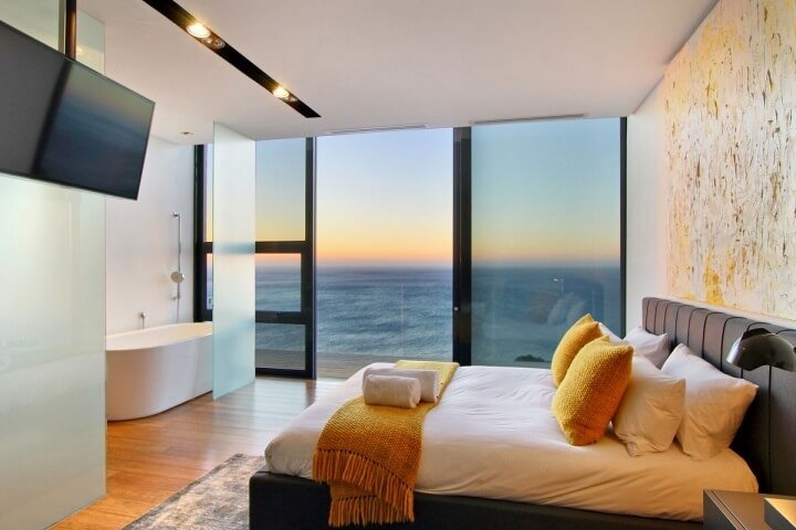 Cool Bedroom With Ocean View
