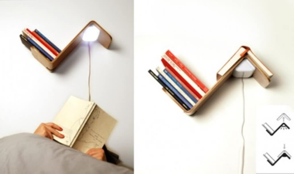 Floating Creative Bookcase