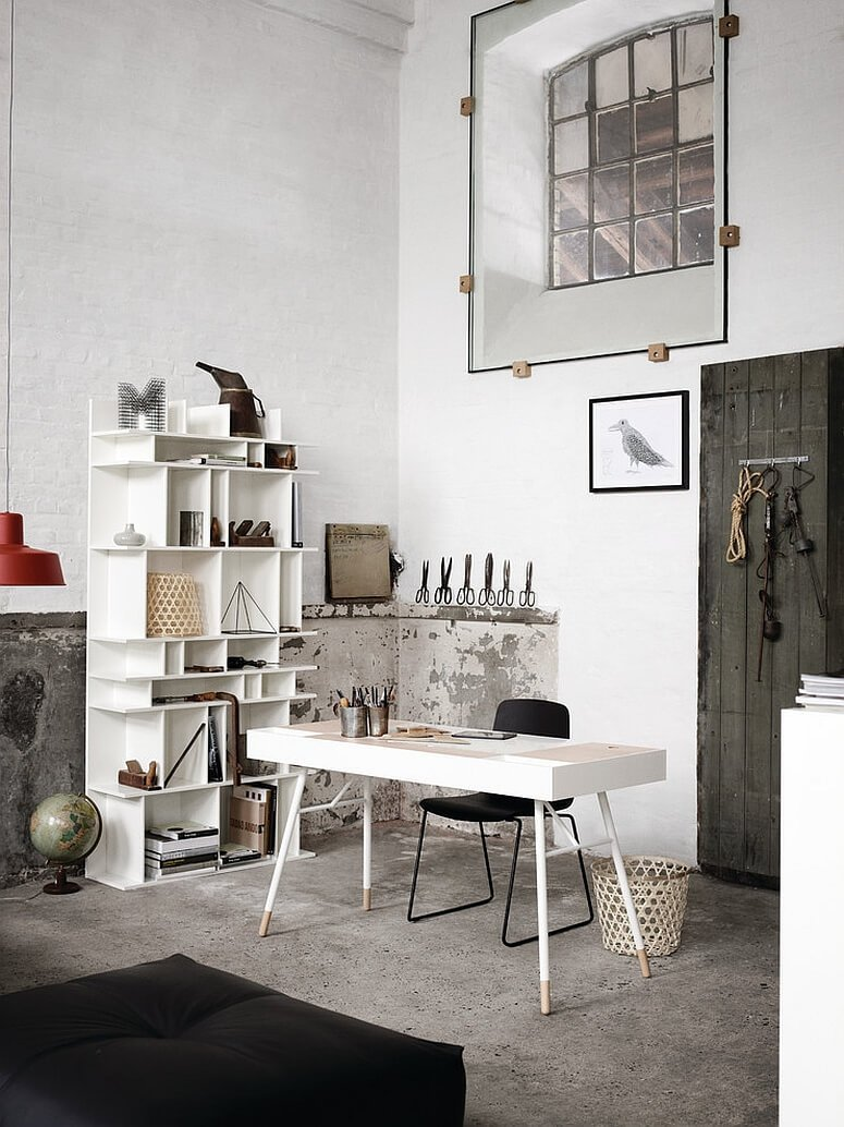 Fantastic Industrial Style Home Office Designs to Help You ... - photo#39