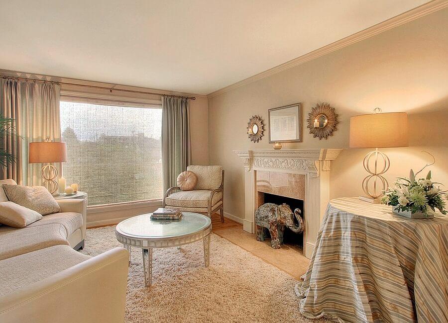 Serene Feminine Living Room