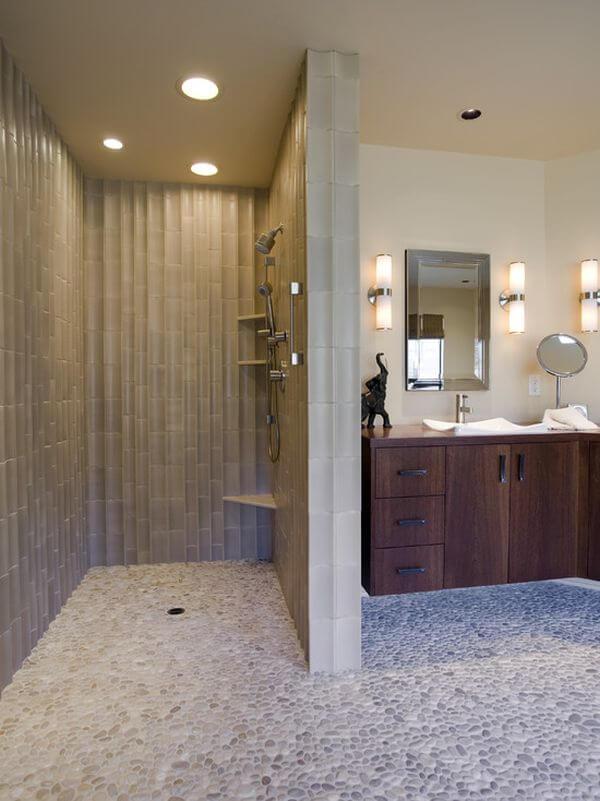 10 beautiful walk in shower design ideas. Black Bedroom Furniture Sets. Home Design Ideas