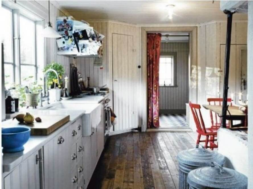 12 rustic scandinavian kitchen design ideas. Black Bedroom Furniture Sets. Home Design Ideas